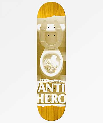 "Anti-Hero Shit On Money Price Point 8.25"" Skateboard Deck"