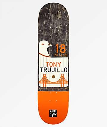 """Anti Hero Trujillo Scenic Drive 8.06"""" Skateboard Deck"""
