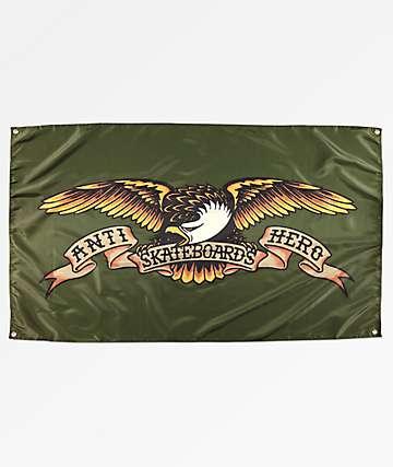 Anti-Hero bandera verde de aguíla