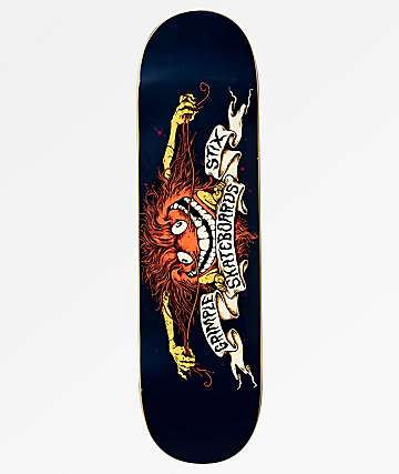 "Anti-Hero x Grimple Stix Dark Blue 8.5"" Skateboard Deck"
