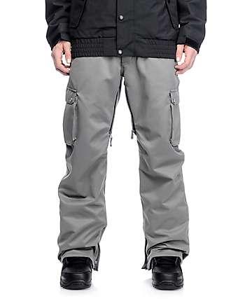 Aperture Alive 10K pantalones de snowboard cargo en color carbón