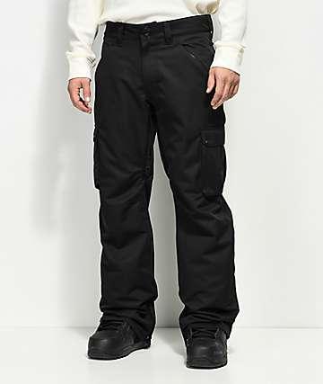 Aperture Alive Cargo Black 10K Snowboard Pants