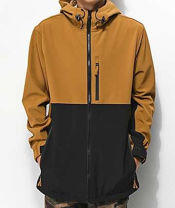 Aperture Alpine Black & Tobacco 10K Snowboard Jacket