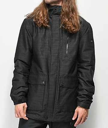 Aperture Bergman 10K chaqueta de snowboard de negro