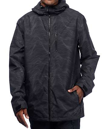 Aperture Big Bang 10K Black Snowboard Jacket