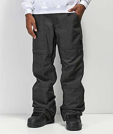 Aperture Boomer 10K pantalones de snowboard negros