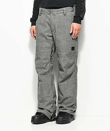 Aperture Boomer Work Pant Grey 10K Snowboard Pants