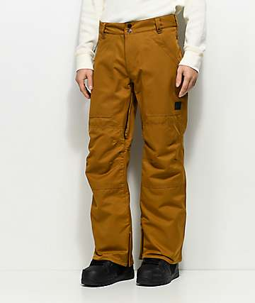 Aperture Boomer Work Pant Tobacco 10K Snowboard Pants