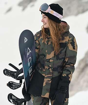 Aperture Capitol Camo 10K chaqueta de snowboard