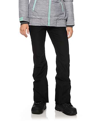 Aperture Crystal Black 10K Stretch Snowboard Pants