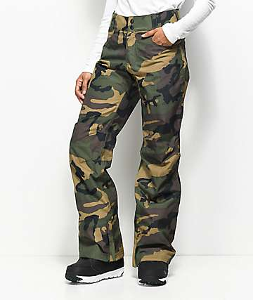 Aperture Crystaline Camo 10K Snowboard Pants