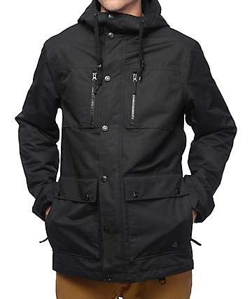 Aperture Defcon M65 10K chaqueta de snowboard en negro