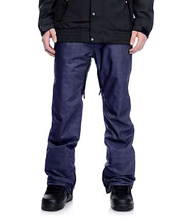 Aperture Green Line 10K Denim Snowboard Pants