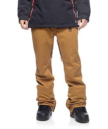 Aperture Green Line 10K pantalones de snowboard en caqui