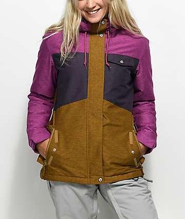 Aperture Heaven Purple & Tobacco 10K Snowboard Jacket