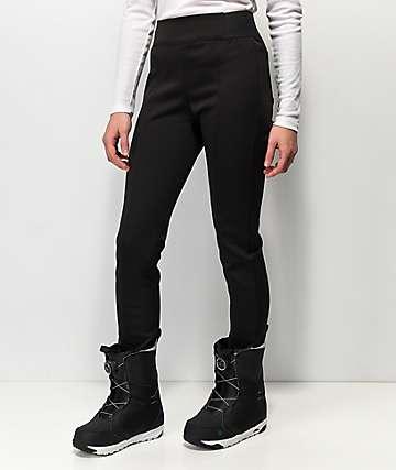 Aperture Luxe Black 10K Snowboard Pants