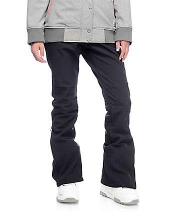Aperture Riders pantalones de snowboard softshell 10K en negro
