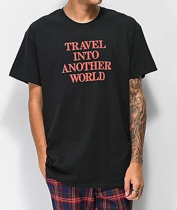Aras Another World Black T-Shirt