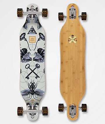 "Arbor Axis Bamboo Collection Drop Through 40"" Longboard Complete"