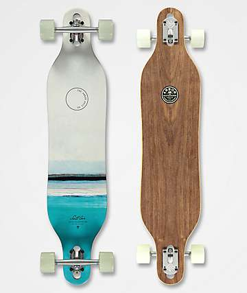 "Arbor Axis Jon PC 40"" Drop Through longboard completo"