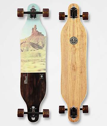 "Arbor Axis Steele PC 40"" Drop Through Longboard Complete"