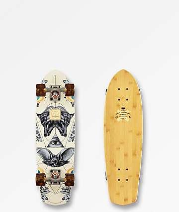 "Arbor Bamboo Pocket Rocket 27"" Cruiser Complete Skateboard"
