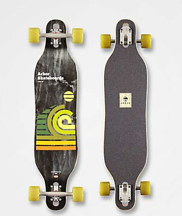 "Arbor Dralpin Axis 37"" Longboard Complete"