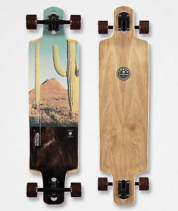 "Arbor Drop Cruiser Photo Collection 38"" Double Drop Longboard Complete"