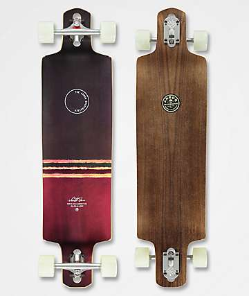 "Arbor Dropcruiser Jon PC 38"" Drop Through longboard completo"