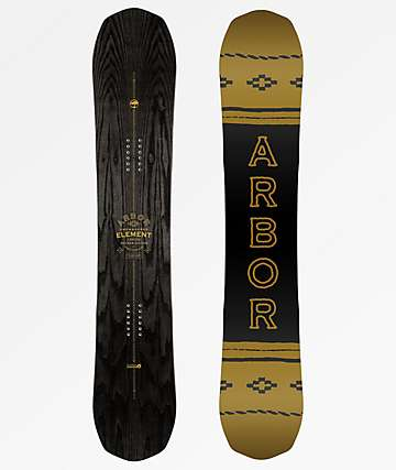 Arbor Element Black Rocker Snowboard 2019