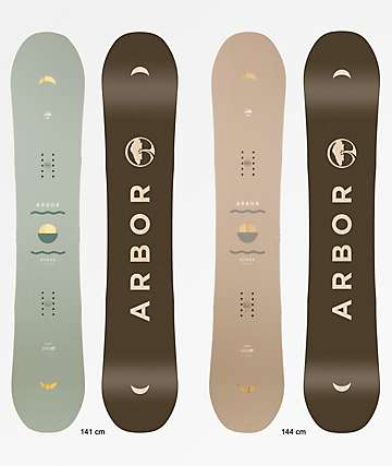 Arbor Ethos 2019 tabla de snowboard para mujer