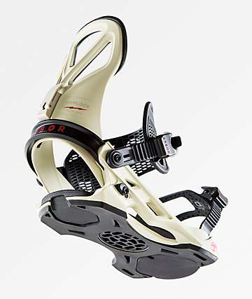 Arbor Hemlock Frank April Red Snowboard Binding 2019
