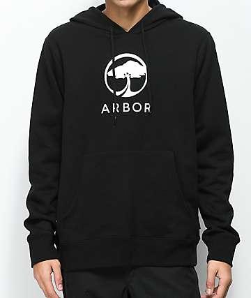 Arbor Landmark Black Hoodie