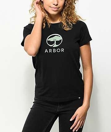 Arbor Landmark Black T-Shirt