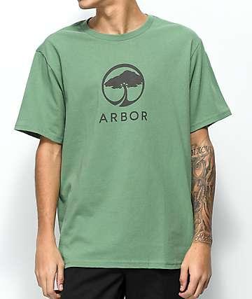 Arbor Landmark Green T-Shirt