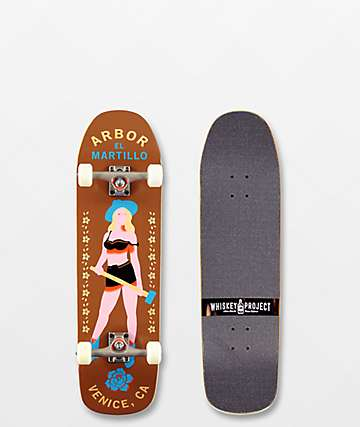 """Arbor Martillo Legacy 8.87"""" Skateboard Complete"""
