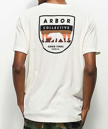 Arbor Parks Off White T-Shirt