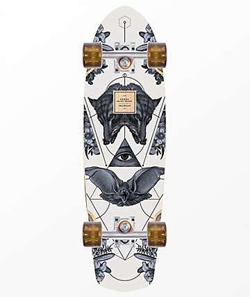 "Arbor Pocket Rocket Bamboo  27"" Cruiser Complete Skateboard"