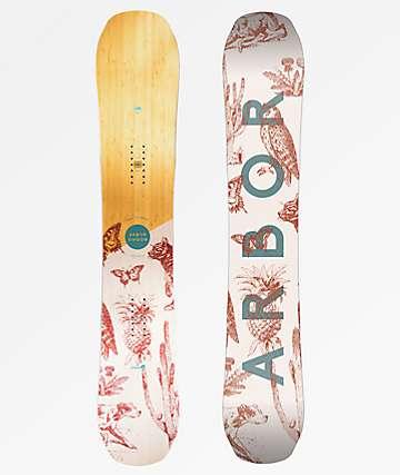 Arbor Swoon Rocker 2019 tabla de snowboard para mujer