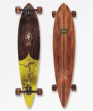 "Arbor Timeless Groundswell 2018 42"" Pintail longboard completo"