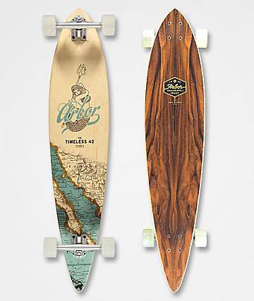 """Arbor Timeless Groundswell 42"""" longboard completo"""