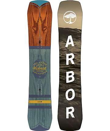 Arbor Westmark Snowboard ancha de 154cm
