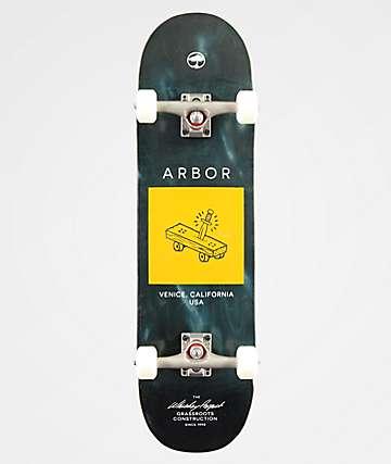"""Arbor Whiskey Team 8.5"""" Skateboard Complete"""