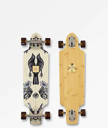 "Arbor Zeppelin Bamboo Collection 32"" Drop Through Longboard Complete"