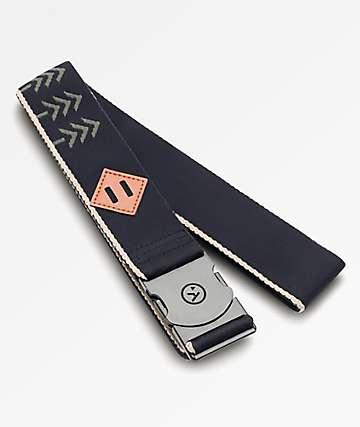 Arcade Blackwood Black & Khaki Clip Belt
