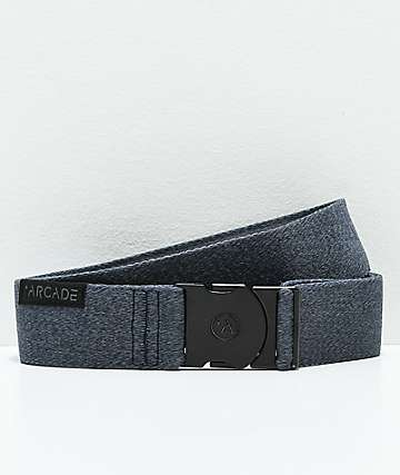 Arcade Foundation Heather Blue Clip Belt