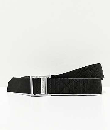 Arcade Guide cinturón tejido en negro