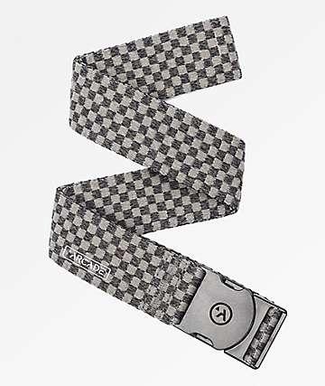 Arcade Pronto Heather Black & Grey Check Webbed Belt