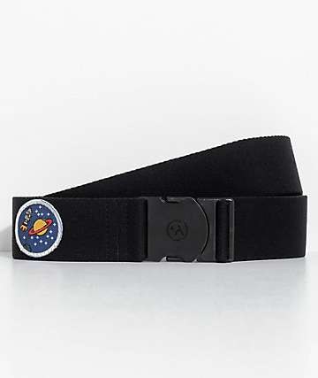 Arcade Rambler Black Space Patch Belt