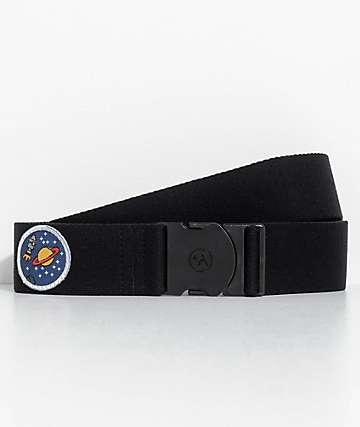 Arcade Rambler Black Space Patch Belt